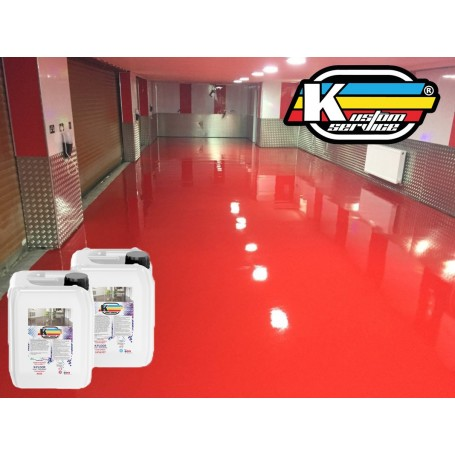 Epoxy Satin Colored Resin for Interior and Industrial Design - 5KG