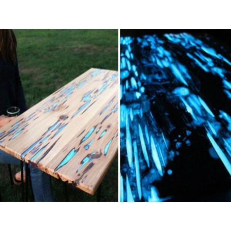 Phosphorescent Epoxy Concentrate Pigment Blue Low Concentrate - 30ML