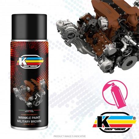Wrinkle Paint Nato Brown Hi Heat Spray - 400ml