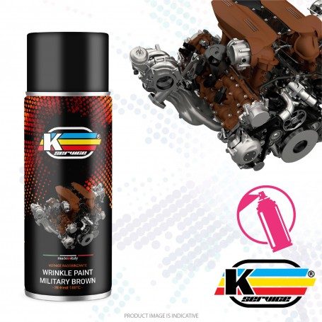 Wrinkle Paint Nato Brown Spray - 400ml