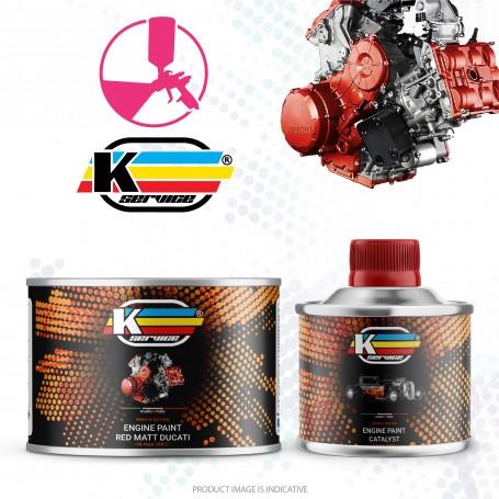 Engine Paint Red Matt Ducati 2K Hi Heat - 250gr