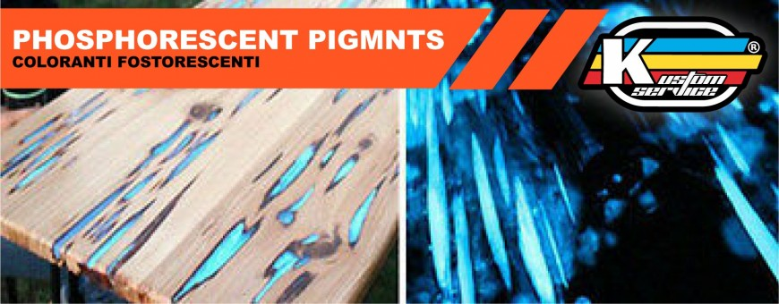 Epoxy phosphorescent Pigments