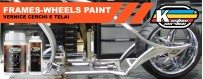 Frame and wheels paint