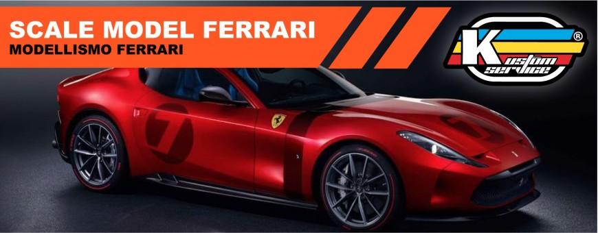 Acrylic water based Ferrari colors
