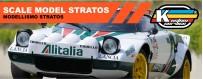 Lancia Stratos Alitalia colors
