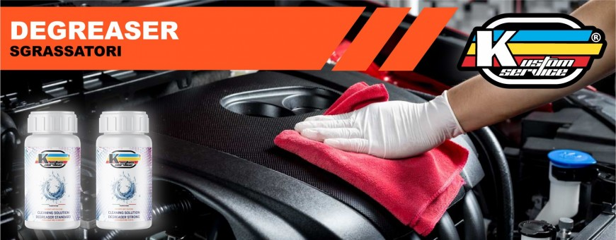 Degreaser for alloy and metals of bikes and cars