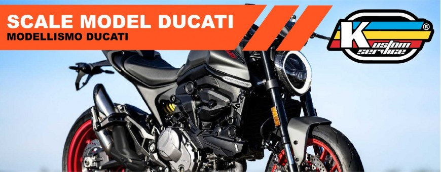 Ducati airbrush acrylic scale model colors and paint