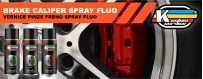 Neon brake caliper spray paint high temperature for cars and bikes