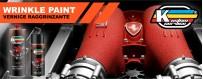 Wrinkle Paint hi heat engine