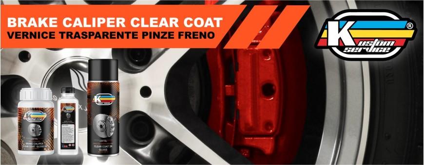 Brake Caliper Hi heat clear coat paint