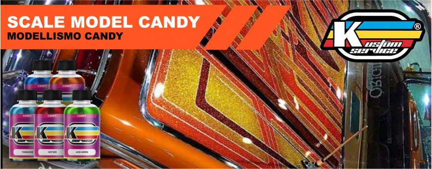Acrylic water based airbrush scale model candy paints