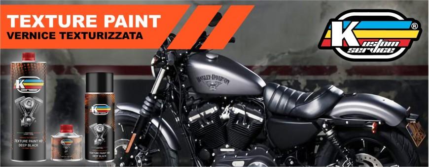 High Heat engine texture paint deep black matt for Harley Davidson